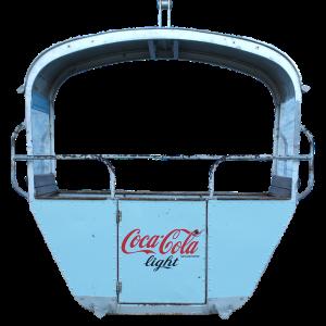 "CocaCola 300x300 - 2er Gondelkabine 1956 ""Coca-Cola"""