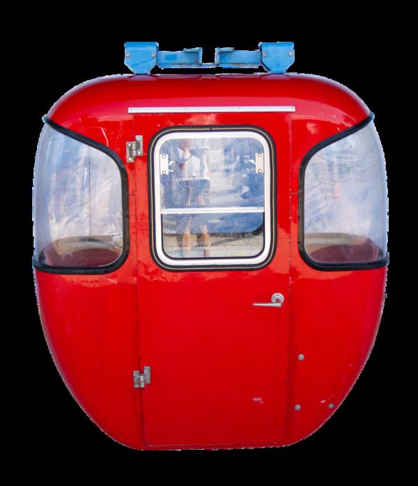 "Eiger 600x698 - 2er Gondelkabine 1973 ""Braunwald"""