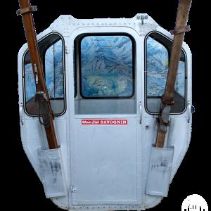 "Savognin 300x300 - 4er Gondelkabine 1969 ""Savognin"""